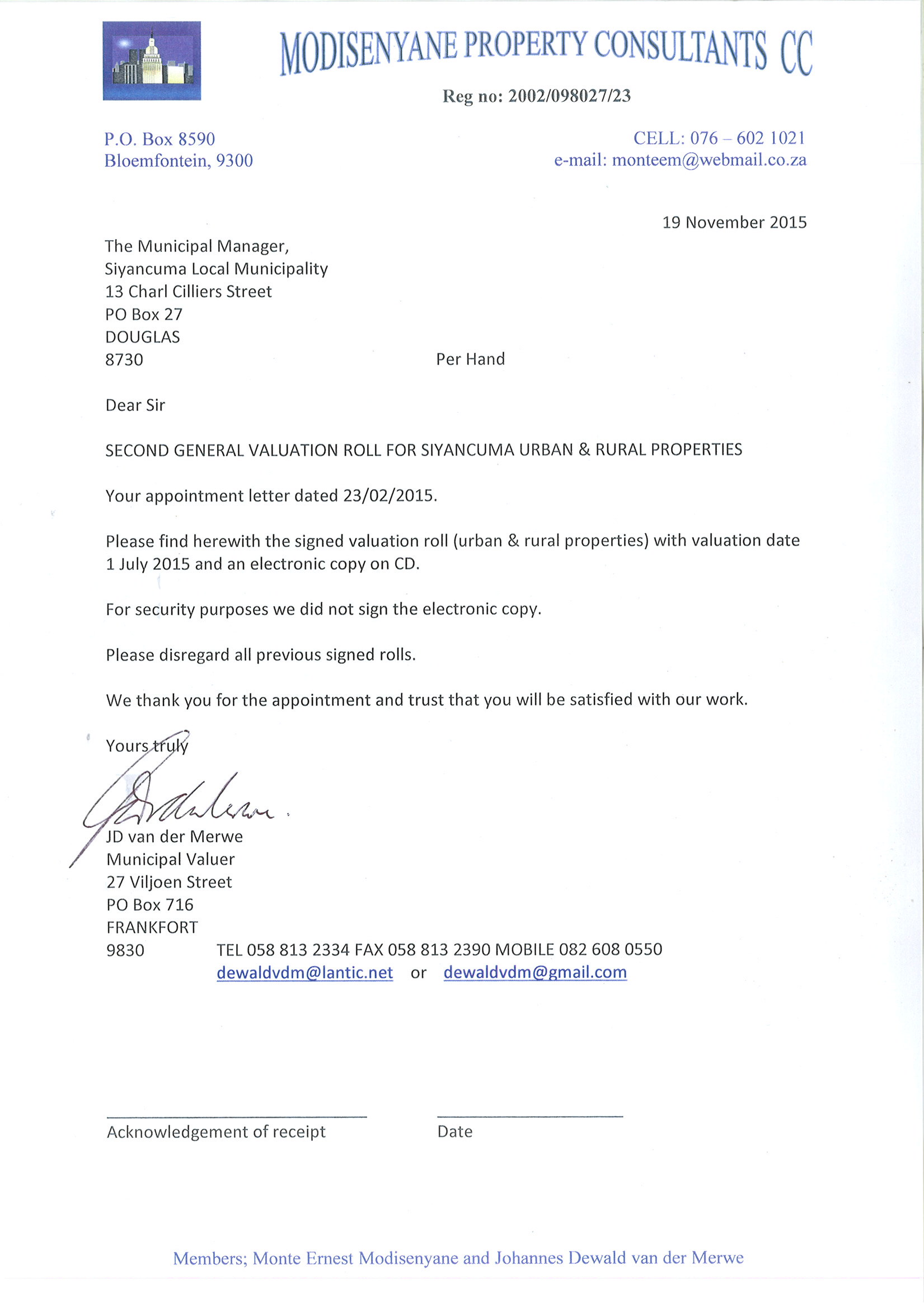 Downloads General Evaluations 2015 – Signed Cover Letter